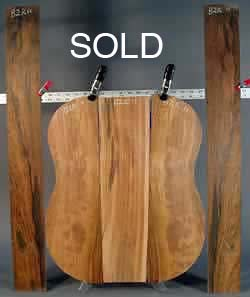 Brazilian Rosewood Guitar set 11